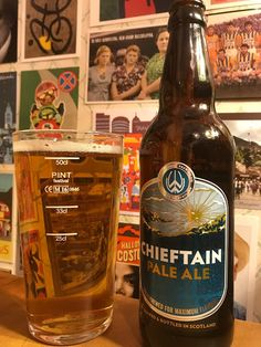 Williams Bros. Brewing Chieftain Pale Ale