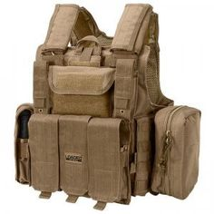 Loaded Gear Tactical Vest VX-300 (Dark Earth)