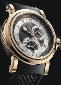 Elegant Breguet Marine - a GMT for travellers