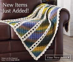 My favorite source for arts and crafts:  Mary Maxim - Knit and Crochet Sweaters, Afghans, Crafts and Yarn