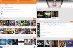 Google Play Music poderá chegar brevemente no formato para iPad