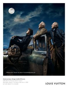 To the Moon Sally Ride, Buzz Aldrin, & Jim Lovell by Annie Leibovitz