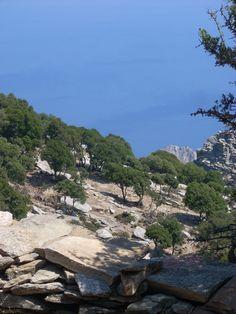 ikaria - pezi - ai isidoros Greece Islands, Landscapes, Outdoors, River, Rock, Beautiful, Greece, Scenery, Paisajes