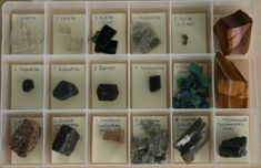 Storage and Display Your Mineral and Rock Collection