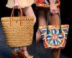 Moda Preview | Rafia, imprescindible material de los Bolsos del Verano | http://www.modapreviewinternational.com