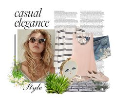 """""""Casual"""" by norse-goddess ❤ liked on Polyvore featuring WithChic, Glamorous, Clarks and ASOS"""