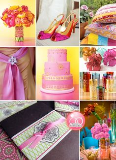 Moroccan wedding theme ~ Bright colors, gold accents, and a few traditional Moroccan items such as lanterns or tea glasses, can set the mood and bring the theme together.