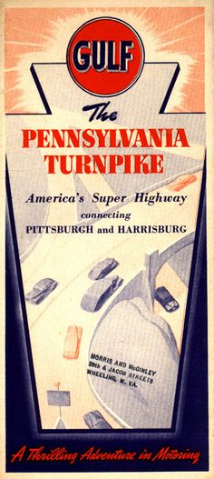 Gulf Pennsylvania Turnpike 1940s
