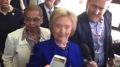 Hillary Clinton has seizure / convulsions - tries to play it off making ...