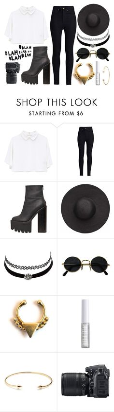 """""""Untitled #111"""" by little-miss-marie ❤ liked on Polyvore featuring Rodarte, Jeffrey Campbell, Witchery, Charlotte Russe, Forever 21, Lord & Berry, Jeweliq and Nikon"""