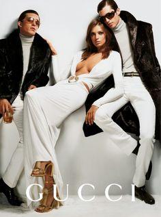 Daria Werbowy for Gucci Fall 2014 Campaign