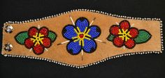 May 18, 20 14 - Athabascan beadwork by Brenda Mahan,  from Galena, Alaska- bracelet