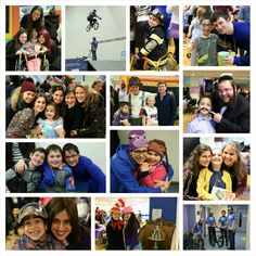 Chai Lifeline New York region families celebrated with a Purim Carnival at Magen David Yeshiva featuring awesome rides, face painting, a fun photo booth, delicious food and a costume contest.