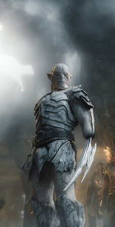 Azog from The Hobbit