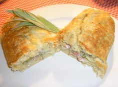 Bacon Roly-Poly - my Mum used to make this, gotta try and do it  myself one day.