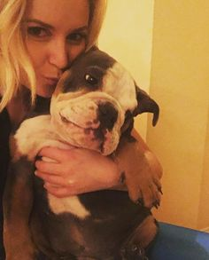 Renee Young and Blue June 16th 2016