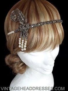 Unique Vintage Headpieces, Headbands, Tiaras & Circlets