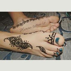 #henna #tattoo #tatouage #henné