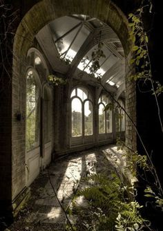 Beautiful abandoned places...Hawkhurst school for girls, UK.