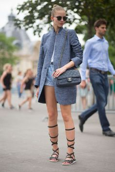 99 chic street style outfits to copy now from Paris Couture Week.