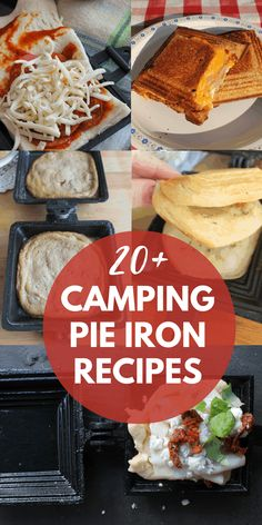Camping Food Pie Iron, Pie Iron Cooking, Oven Cooking, Cooking Recipes, Pie Iron Recipes, Pudgy Pie, Camping Cooker, Camping Hacks, Camping Foods