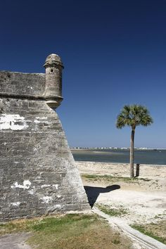 Sentry Post On The Wall Castillo De San Marcos St Augustine Florida