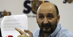 José Manuel Sánchez Fornet, exsecretario general del SUP. EFE/Archivo