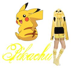 """""""Pikachu"""" by juhh-bvb ❤ liked on Polyvore featuring CO"""