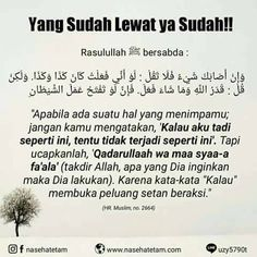"biarkan yang sudah terjadi :""v Pray Quotes, Words Quotes, Best Quotes, Life Quotes, Islamic Inspirational Quotes, Islamic Quotes, Motivational Quotes, Reminder Quotes, Self Reminder"