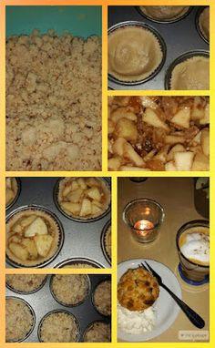 Lekker en leuk!: Mini appelkruimeltaartjes
