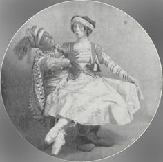 """Kotchetovsky & Nijinska """" Petrouchka"""""""