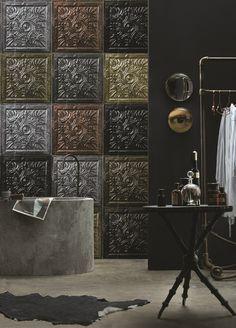 Koziel Tin Tiles Wallcoverings  (3)