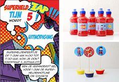 { miepisch }: juli 2013 Ideeën voor superhelden feestje