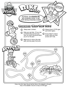 Bike helmet safety coloring pages preschool ~ Water Safety word scramble #Kidactivities   Coloring and ...
