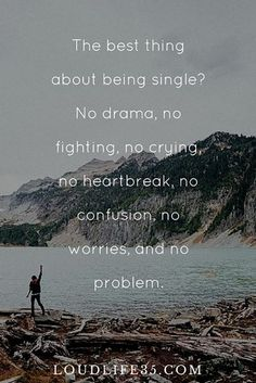 Being single isn't always a walk in the park, at first. but we've got the key to being so happily single, thanks to these empowering quotes about being single, so much you'll want to keep it that way! Happy Single Quotes, Single Girl Quotes, Single And Happy, Single Girls, Being Single Quotes, Stay Happy Quotes, Love Being Single, How To Be Single, Single Life