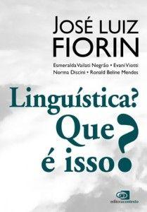 O   livro do  professor J. L. Fiorin é leitura para  professores, estudantes de  Letras e  leigos.