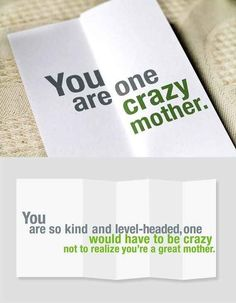 These funny greeting cards look somewhat insulting at first glance, but cheerfully say the opposite when folded out. Here are some ideas! Diy Birthday Gifts For Mom, Handmade Birthday Gifts, Diy Birthday Banner, Homemade Birthday Cards, Funny Birthday Gifts, Happy Birthday, 70th Birthday, Girl Birthday, Funny Greetings