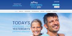 #sesamewebdesign #psds #dental #responsive #blue #white #gray #top-menu #full-width #flat #sans #orange