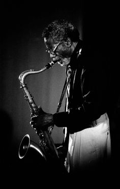 Joe Henderson (1937-2001) American jazz tenor saxophonist.
