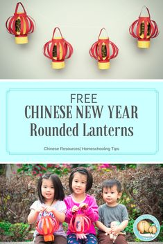 Decorating and hanging up Chinese New Year Lanterns is a tradition for Chinese family as they celebrate the coming Chinese New Year. I created this Chinese New Year Rounded Lanterns printable with easier steps and instructions that is a perfect activity for kids, so little kids can make their own lanterns and experience the Chinese New Year culture with their family and friends. You can try a FREE sample as you click this image. #learnchinese #homeschool #homeschoolingresources… Educational Activities For Toddlers, Winter Activities For Kids, Social Studies Activities, Kids Learning, Chinese New Year Crafts For Kids, Art For Kids, New Year's Crafts, Learn Chinese, Fortune Cookie