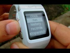 nike sportwatch gps review clockwork reviews pinterest rh pinterest com Nike Cardio Watch nike+ sportwatch gps user manual