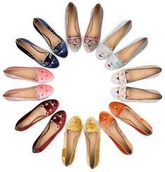 On the Wish List: Charlotte Olympia Kitty Flats - Coco's Tea Party