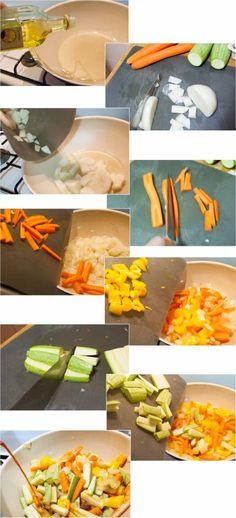 Salteado de verduras en wok - Básicos de cocina - Cocina para uno ...