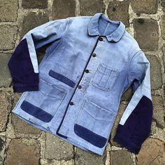 Original patched moleskin jacket