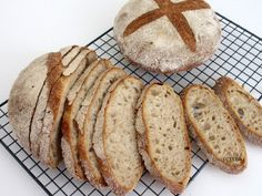 Cooking Bread, Paleo Bread, Bread Baking, Bread Recipes, Cooking Recipes, Piece Of Bread, Daily Bread, Crackers, Homemade