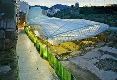 ACM Arquitectura's Contemporary Canopy Protects Ancient Roman Ruins in Cartagena, Spain