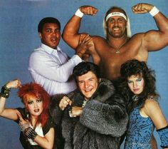 Cyn, The Greatest, Hulk Hogan, Liberace And Wendi Richter