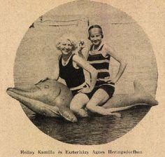 Fürdőruha divat- Színházi Élet 1928