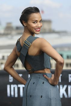 Zoe Saldana - Star Trek Into Darkness Berlin Photocall