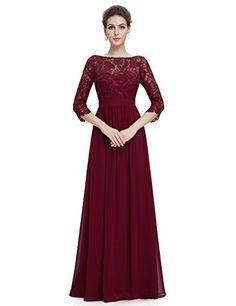 Ever Pretty Womens Lace Long Sleeve Floor Length Evening Dress 4 US Burgundy Ever-Pretty http://www.amazon.com/dp/B018G55ARS/ref=cm_sw_r_pi_dp_4uK5wb033JK5D